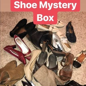 Shoes - Shoe Mystery Box!   4 Pairs to resell!
